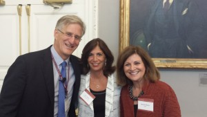 Richard Weissbourd, Sue Scheff and Michele Borba at Harvard University
